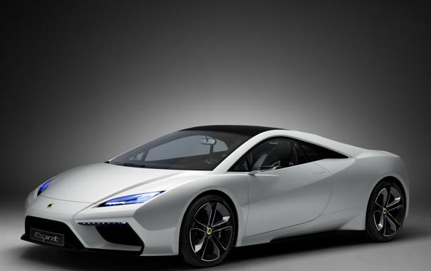Фото обои Concept, Lotus, white, передняя часть, Esprit