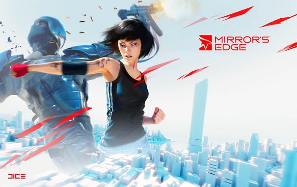 Фото обои драка, Mirrors Edge, фейт, ваще игра супер!