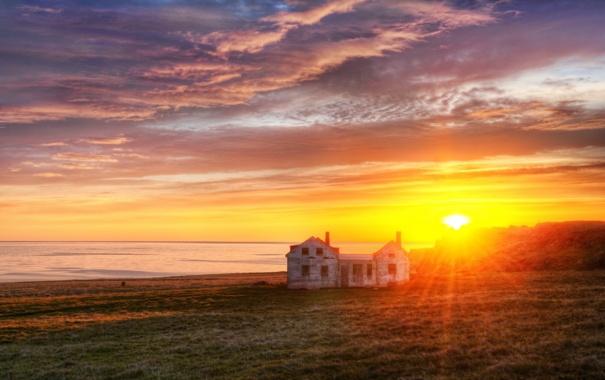 Фото обои восход, north atlantic, Exploring the Peninsula at Sunrise