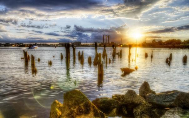 Фото обои United States, Rhode Island, Providence, Fox Poin