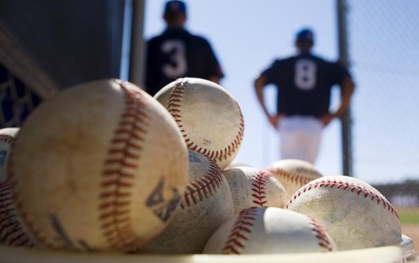 Фото обои спорт, мячи, basebal