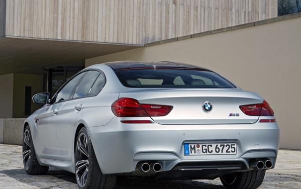 Фото обои авто, бмв, BMW, Gran Coupe, задок