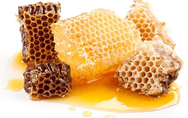 Фото обои соты, сладко, мёд