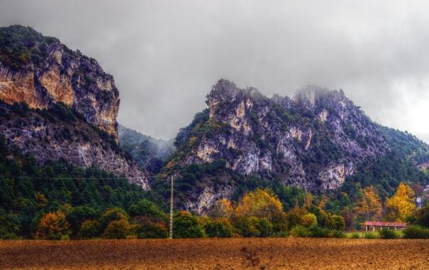 Фото обои горы, природа, фото, Испания, Burgos