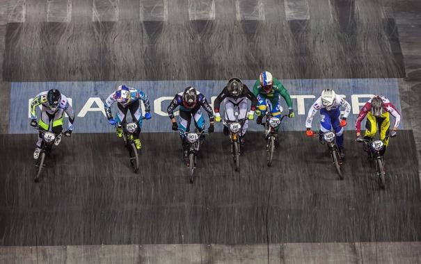 Фото обои гонка, спорт, велосипеды