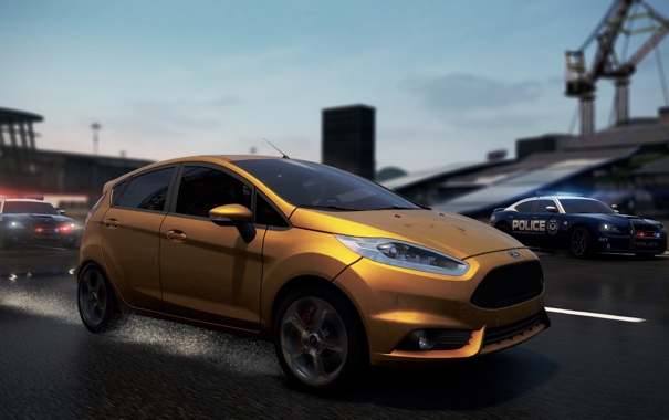 Фото обои Ford, need for speed, nfs, most wanted, Fiesta