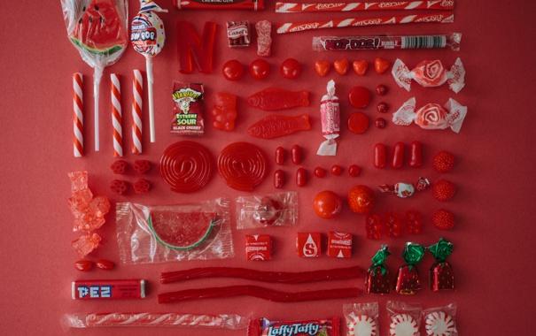 Фото обои конфеты, сахар, леденец, различные, жевательная резинка