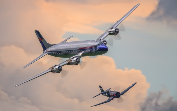 Фото обои небо, самолет, истребитель, полёт