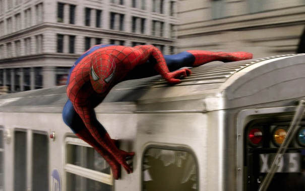 Фото обои Peter Parker, Тоби Магуайр, Tobey Maguire, Человек-паук 2 Spider-Man 2