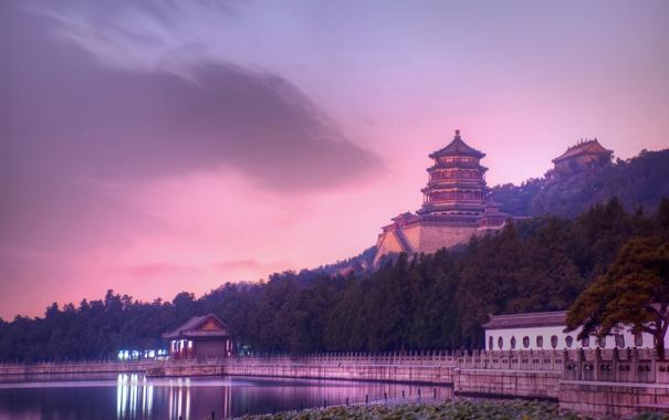 Фото обои пейзаж, обои, Летний дворец, природа, wallpapers, китай, Пекин