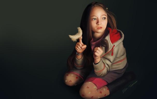Фото обои девочка, digital art, illustration, Jodelle Ferland, Страна приливов, tideland