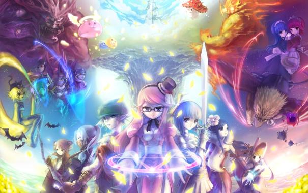 Фото обои аниме, Ragnarok Online, мморпг, горничные, рагнарок