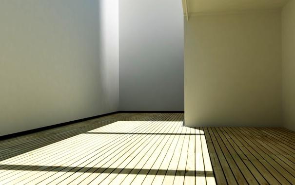 Фото обои sunshine, wood, shadow