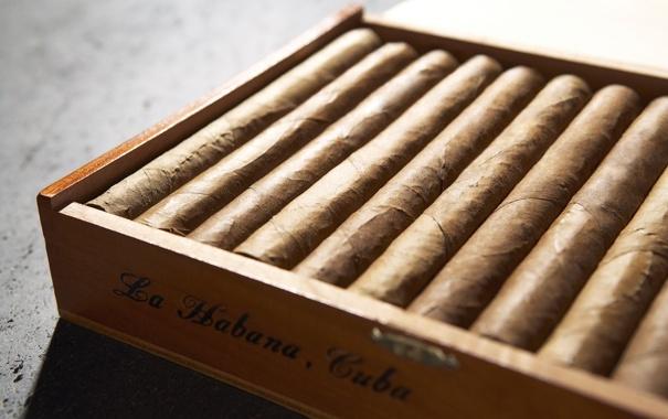 Фото обои коробка, сигары, box, 1920x1200, куба, табак, cigar