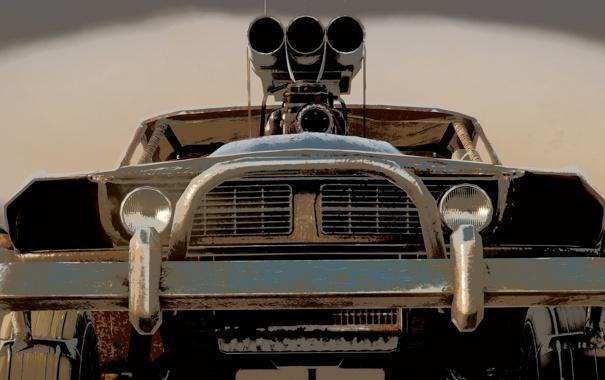 Фото обои машина, Mad Max, Fury Road, Безумный Макс, Дорога ярости