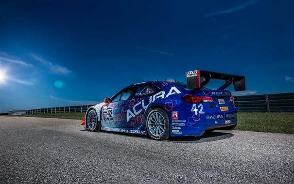 Фото обои акура, Acura, Race Car, 2014, TLX