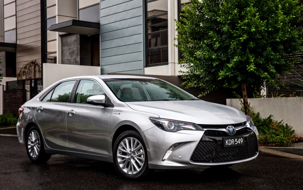Фото обои Toyota, тойота, камри, Camry, 2015, Atara