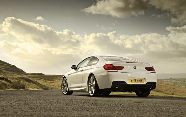 Фото обои BMW, Coupe, 6-Series, M-Sport