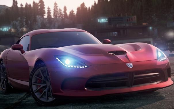 Фото обои Dodge, 2012, Most Wanted, Need for speed, SRT Viper GTS