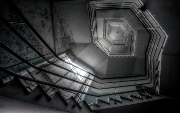 Фото обои фон, стены, лестница