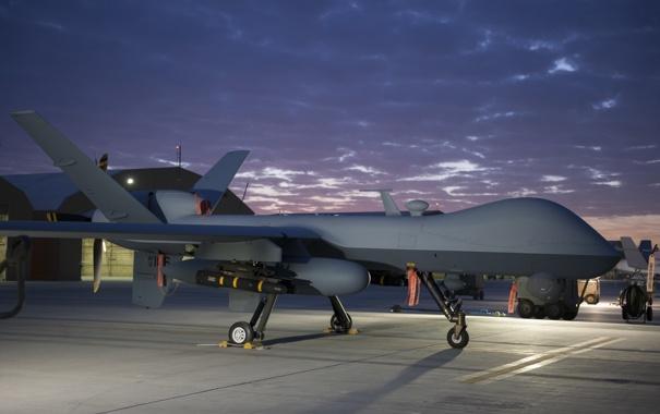 Фото обои Predator, многоцелевой, беспилотный, аппарат, MQ-1, летательный