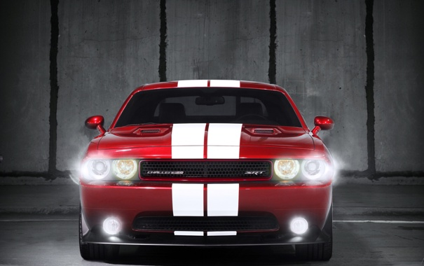 Фото обои dodge, challenger, srt8