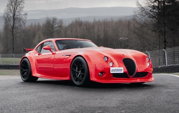 Фото обои car, машина, обои, red, Wiesmann, MF4-CS
