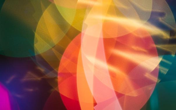 Фото обои свет, фон, цвет, фигуры