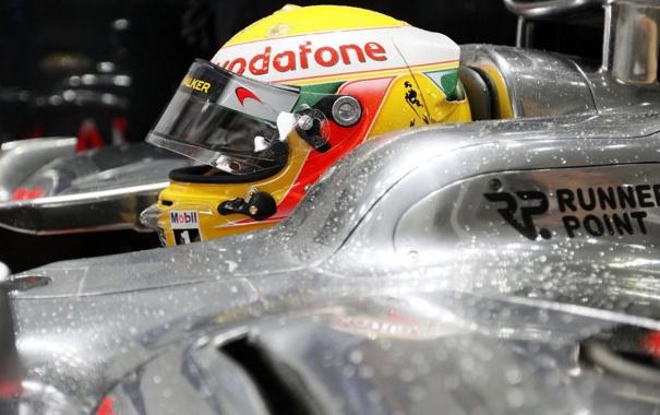Фото обои 2010, formula1, mclaren, hamilton
