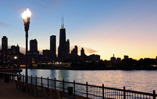 Фото обои city, город, USA, Chicago, Illinois