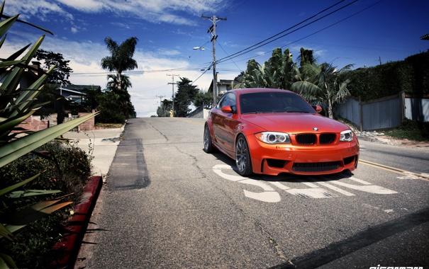 Фото обои дорога, тюнинг, BMW, tuning, eisenmann