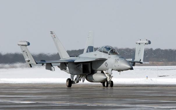 Фото обои оружие, самолёт, EA-18G