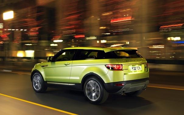 Фото обои Land Rover, Range Rover, Evoque, эвок, ленд ровер, рендж ровер