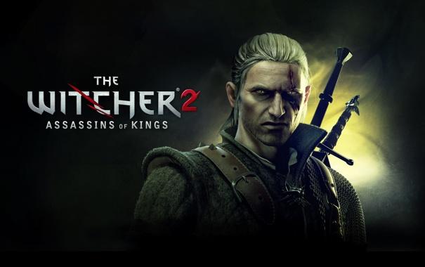 Фото обои the witcher 2, assassins of kings, геральт, ведьмак 2, убийцы королей