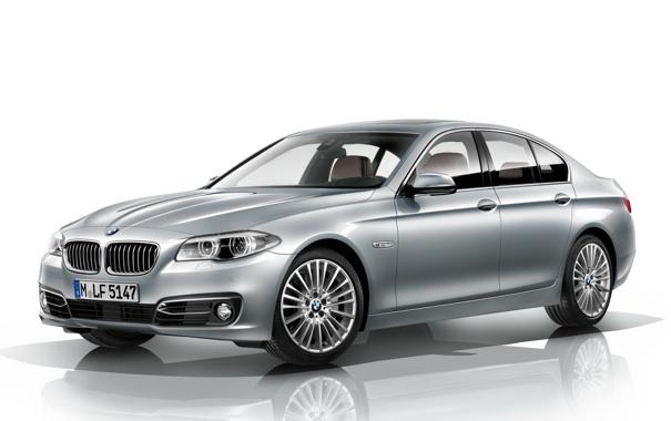 Фото обои машина, серый, BMW, седан, wallpapers, Sedan, 535i