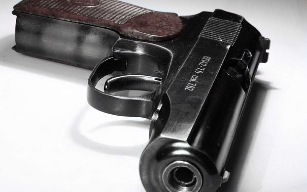 Фото обои пистолет, Пистолет Макарова, Макарыч