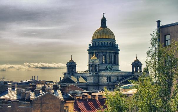 Фото обои Исаакиевский собор, Russia, питер, санкт-петербург, St. Petersburg