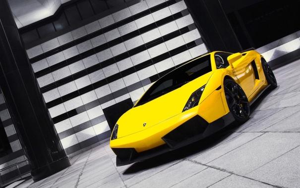 Фото обои 303, gt600, гараж, gallardo, Lamborghini, оранж