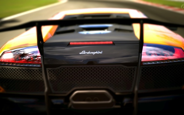 Фото обои Lamborghini, SuperVeloce, GranTurismo5, MurcielagoLP640-4