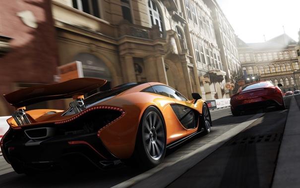 Фото обои гонка, игра, эксклюзив, спорткары, McLaren P1, xbox one, Forza Motorsport 5