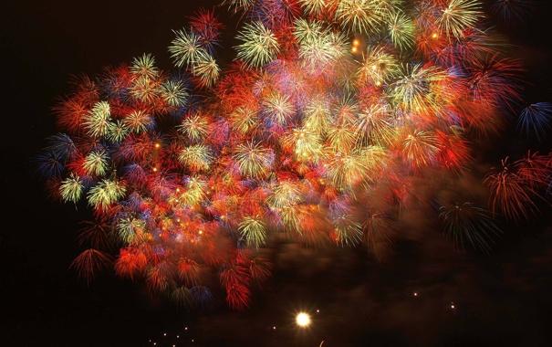 Фото обои праздник, фейерверки, firework