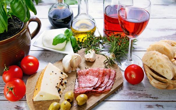Фото обои вино, красное, бокал, бутылка, масло, еда, сыр