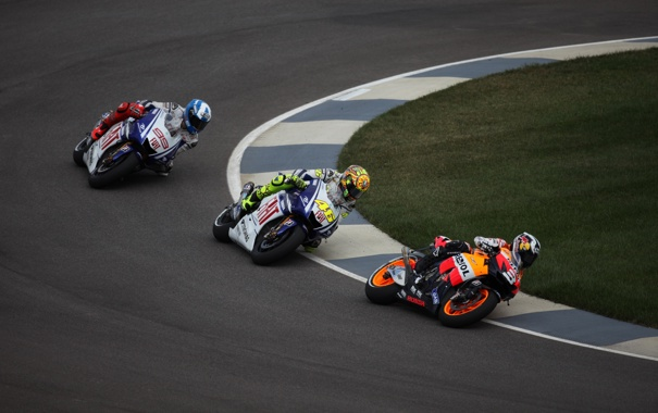 Фото обои дорога, мотоциклы, спорт, гонки, байки, мото обои, moto racing