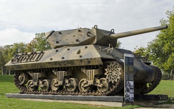 Фото обои установка, самоходная, артиллерийская, (САУ), противотанковая, Destroyer, M10