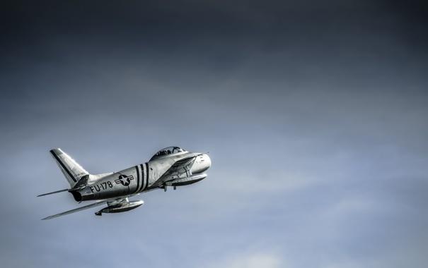 Фото обои небо, крылья, хвост, самолёт, FU - 178