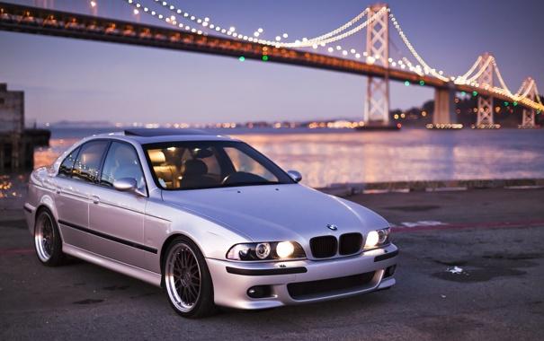 Фото обои BMW, E39, BBS