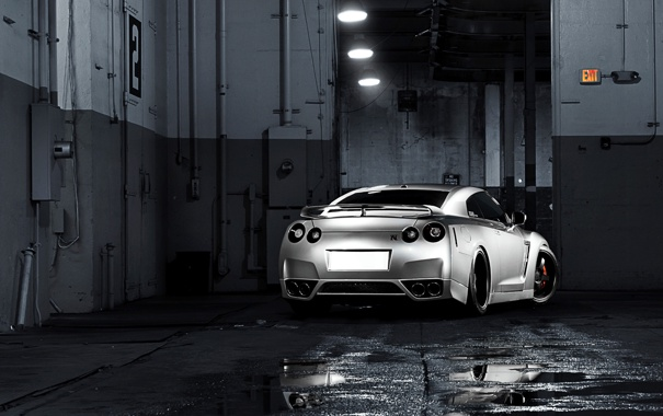 Фото обои тачки, nissan, cars, ниссан, gtr, auto wallpapers, авто обои