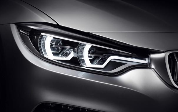 Фото обои Concept, BMW, Coupe, Style, 2013, Silver, 4 series
