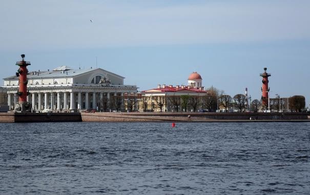 Фото обои санкт-петербург, СПб, Нева