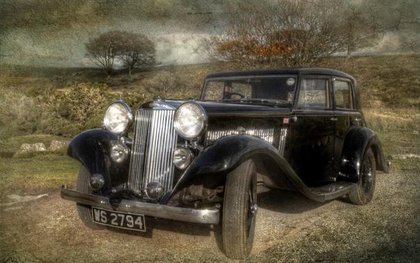 Фото обои машина, стиль, фон, Sunbeam Sport 21 ( 1935 )